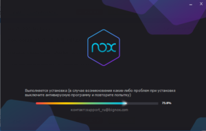Устанавливаем Nox App Player на Windows 8.