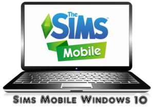 Sims Mobile на Windows 10