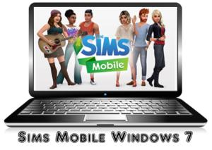 Sims Mobile на Windows 7