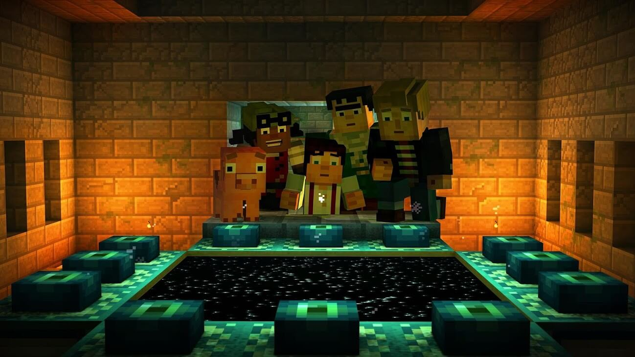 Minecraft Story Mode 01 04