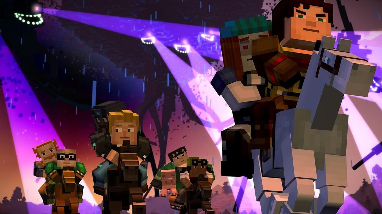 Minecraft Story Mode 01 02