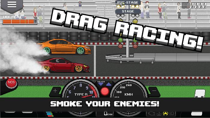 Pixel Car Racer 01
