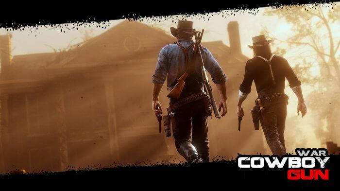 Cowboy Gun War 01