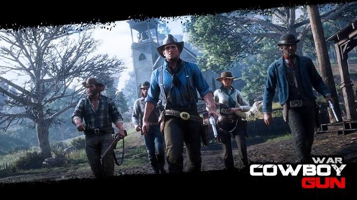 Cowboy Gun War 02
