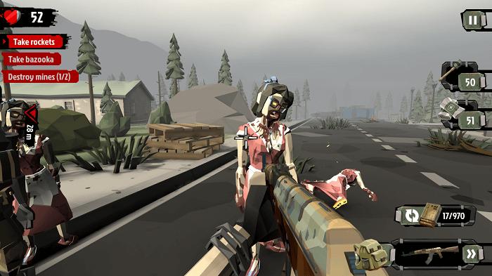 The Walking Zombie 2 01