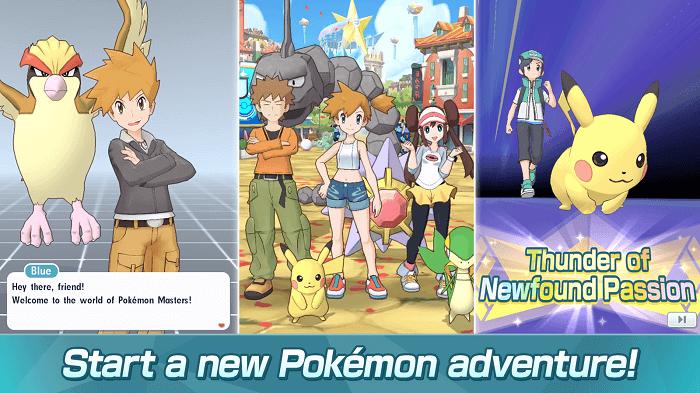 Pokémon Masters 01