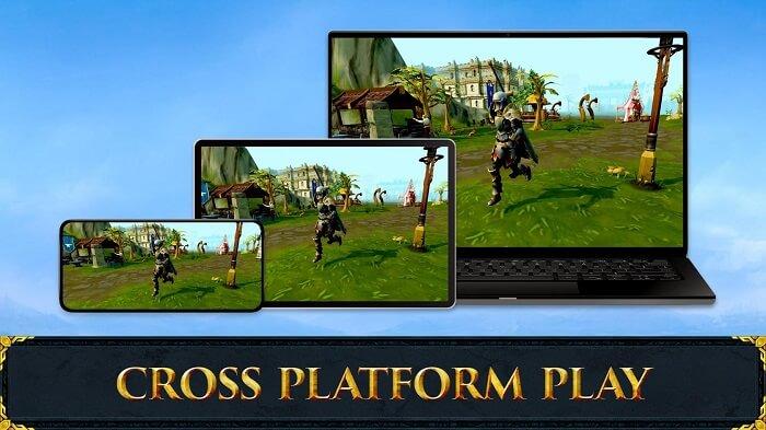 RuneScape Mobile 01