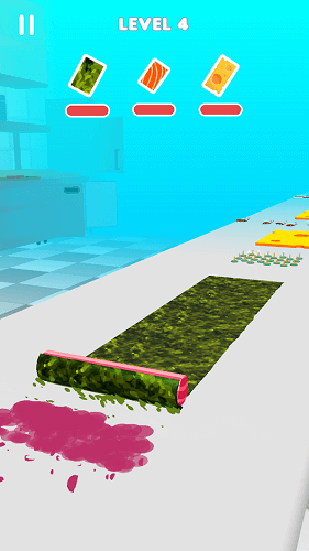 Sushi Roll 3D 01