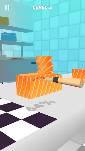 Sushi Roll 3D 03