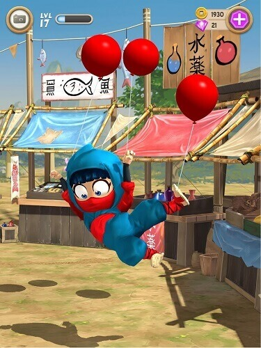 Clumsy Ninja 03