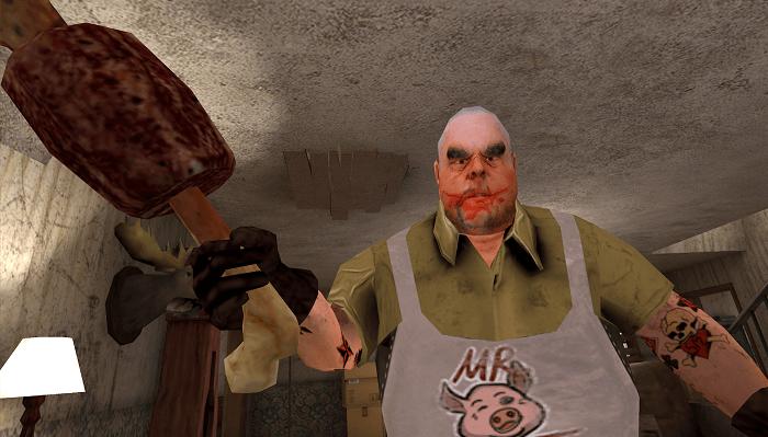 Mr. Meat Комната ужасов 01