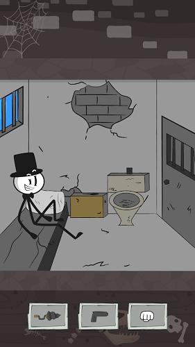 Побег из тюрьмы Приключения стикмена 01